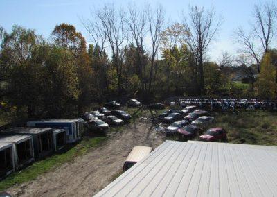 Cour à scrap pour auto dans Lanaudière - Pièces Auto H. Lambert à Berthierville