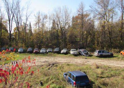 Cour à scrap pour recyclage voitures dans Lanaudière - Pièces Auto H. Lambert à Berthierville