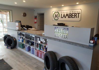 Bureau d'accueil de notre centre de recyclage d'autos - Pièces d'Autos H. Lambert (Pièces auto Lanaudière)