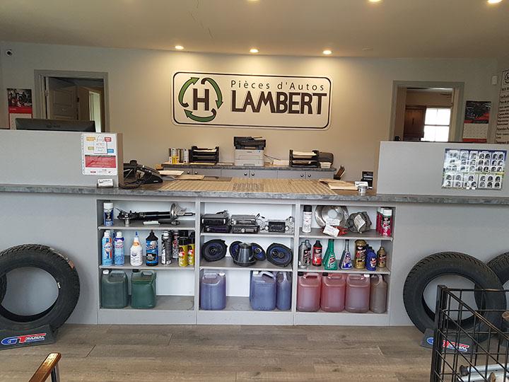 Bureau de notre compagnie de vente de pièces d'autos - Pièces d'Auto H. Lambert (Pièces d'Auto Lanaudière)