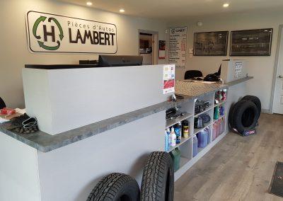 Bureau de notre centre de recyclage d'autos - Pièces d'Autos H. Lambert (Pièces auto Lanaudière)